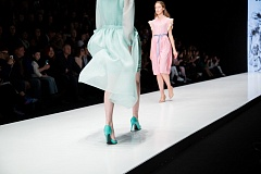 Показ Vera Kostyurina в рамках Mercedes Benz Fashion Week